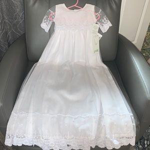 NWT 🕊 Isabel Garreton christening dress size 12M